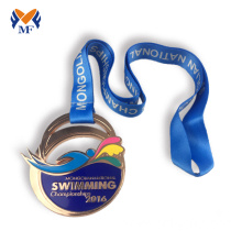 Purchasing for Basketball Medal Buy bronze sports medal swimming medal supply to Ethiopia Wholesale