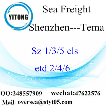Shenzhen Port LCL Consolidation To Tema