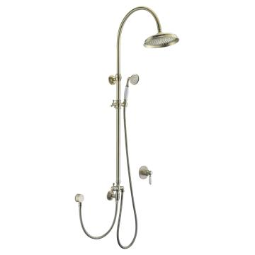 Classic Ancient Bronze Brass Shower Set