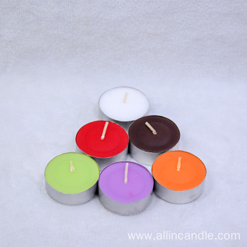 Custom scented candles 14g white tealight candle