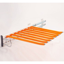 Side-mounted single-row push-pull trouser frame product