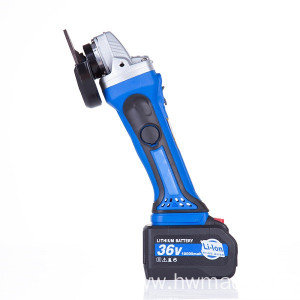 Cordless Angle Grinder With Battery