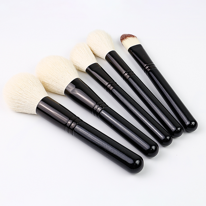 animal hair makeup brush set