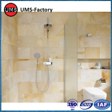 Natural stone effect textured porcelain tiles walls