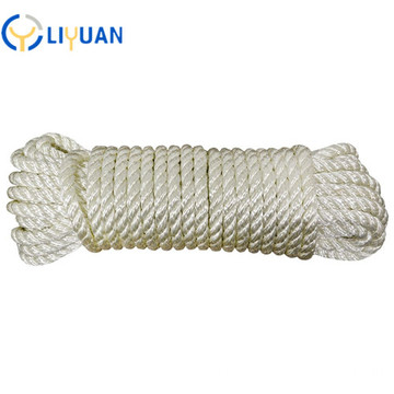 High tenacity natural nylon rope