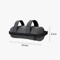 2 in1 Bike Saddle Frame Handlebar Bag