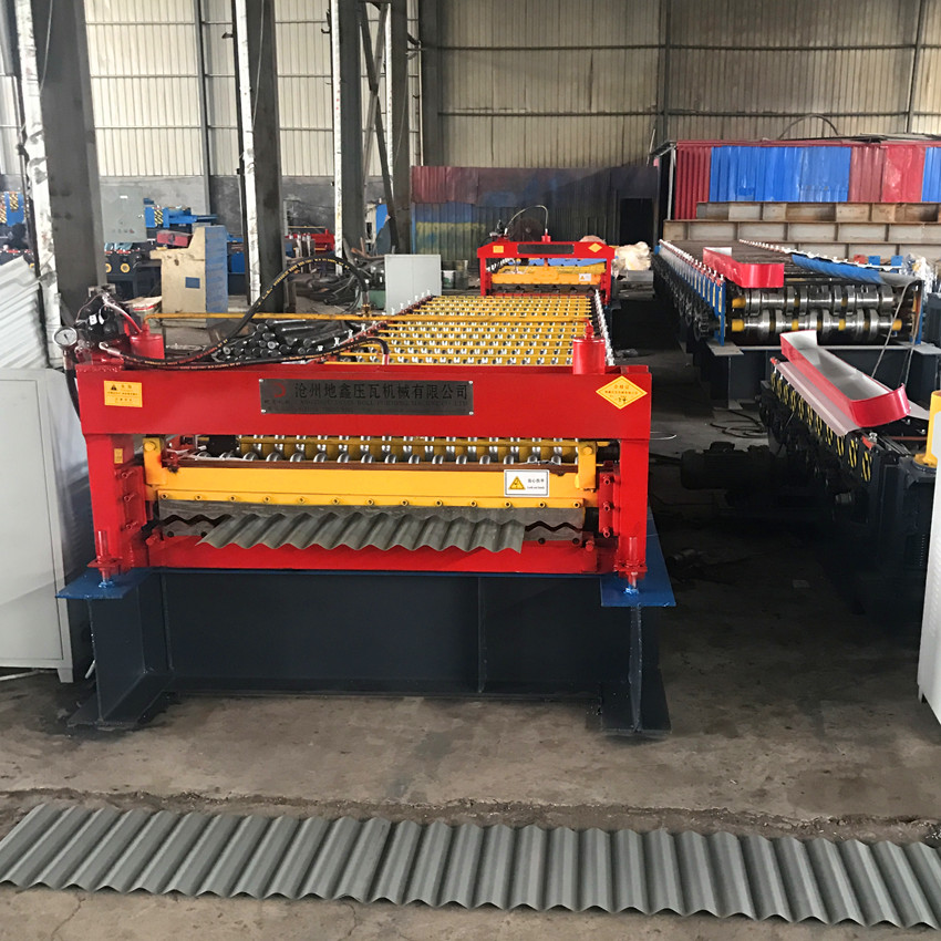 Roofing Sheet Corrugating Sheet Roll Forming Machine