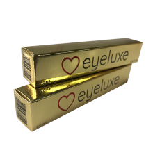 Fashion Lipstick Customized Packaging Gold Paper Box