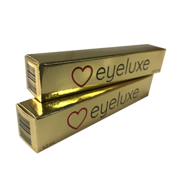 Fashion Lipstick Customized Packaging Gold Paper Boxes