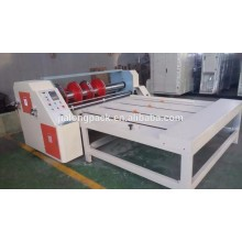 corrugated paperboard chain feeding rotary slotting machine