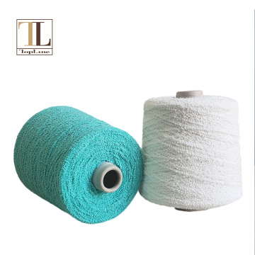 Topline sale cotton boucle yarn for knitting