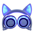 Colorful Stereo Wireless Glowing Foldable Cat Ear Headphone