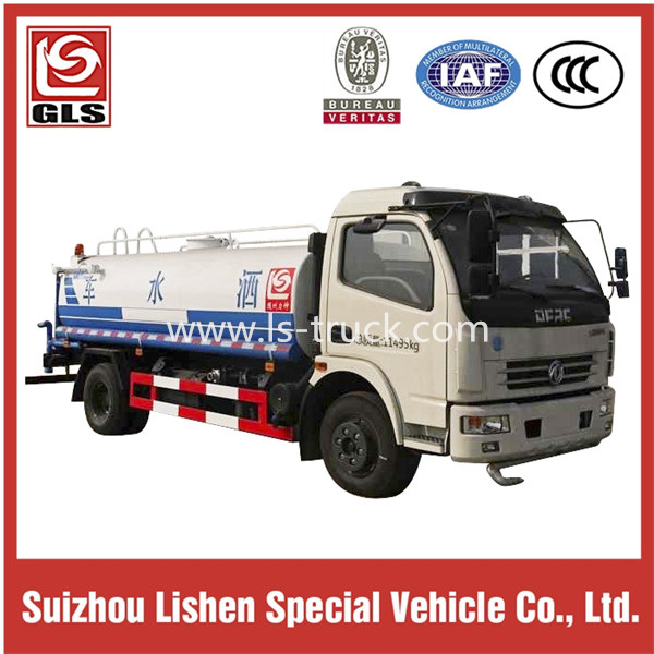 4X2 Dongfeng Water Tank Truck