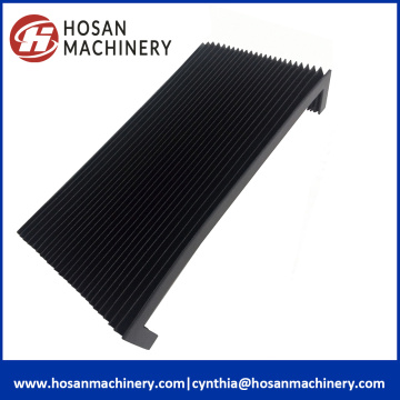 flexible accordion bellows cover for laser cutting