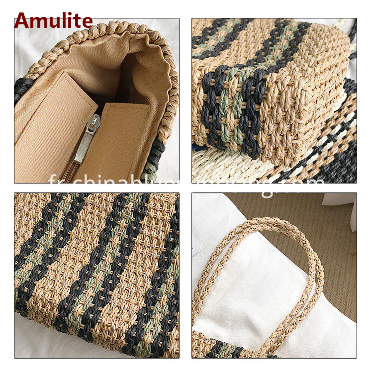 Summer Beach Straw Bag