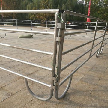 Hot dipped galvanized horse panels