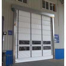 PVC Large Security Stacking up Rapid Door