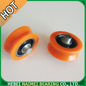 High Performance Precision Ball Bearing Window Pulley