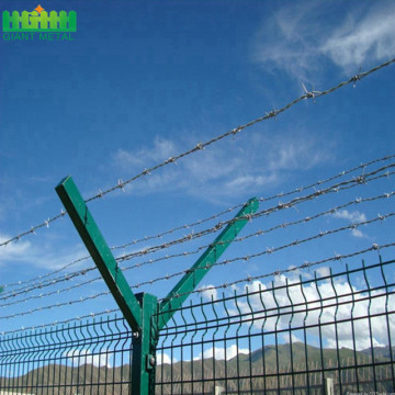 High Security Anti Climb Airport Fence with Razor Barbed Wire