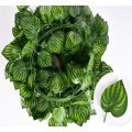Artificial vines green plant watermelon leaves rattan