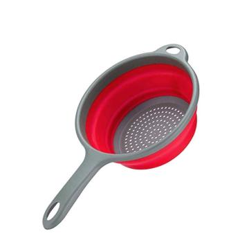 Foldable Silicone Strainers Collapsible Colanders