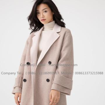 Women Sully Alpaca Pug Cashmere Medium Coat