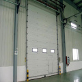 High speed aluminum sectional door
