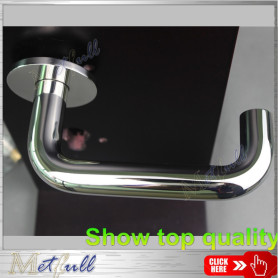 Mirror Polished Solid Lever Door Handle