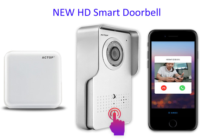 Smart Ring Wifi Doorbell Wireless