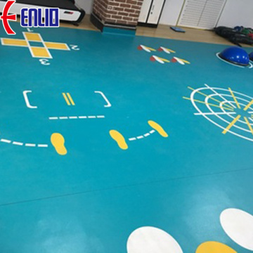 high quality pvc sports floor for play area