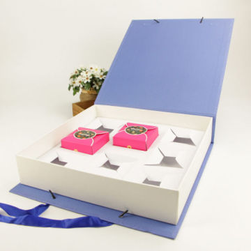 Customized Food Mooncake Packaging Paper Box