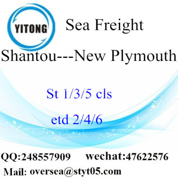 Shantou Port LCL Consolidation To New Plymouth