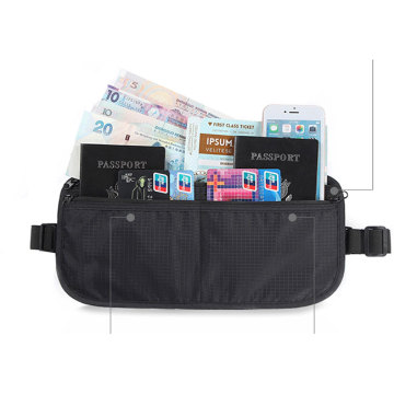 Travel Small Rfid Blocking Pouch Neck Card Wallet