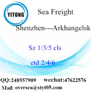 Shenzhen Port LCL Consolidation To Arkhangelsk