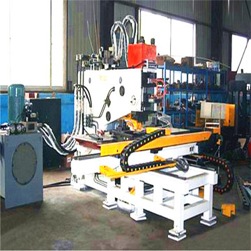 CNC Hydraulic Punching Machine for Plate