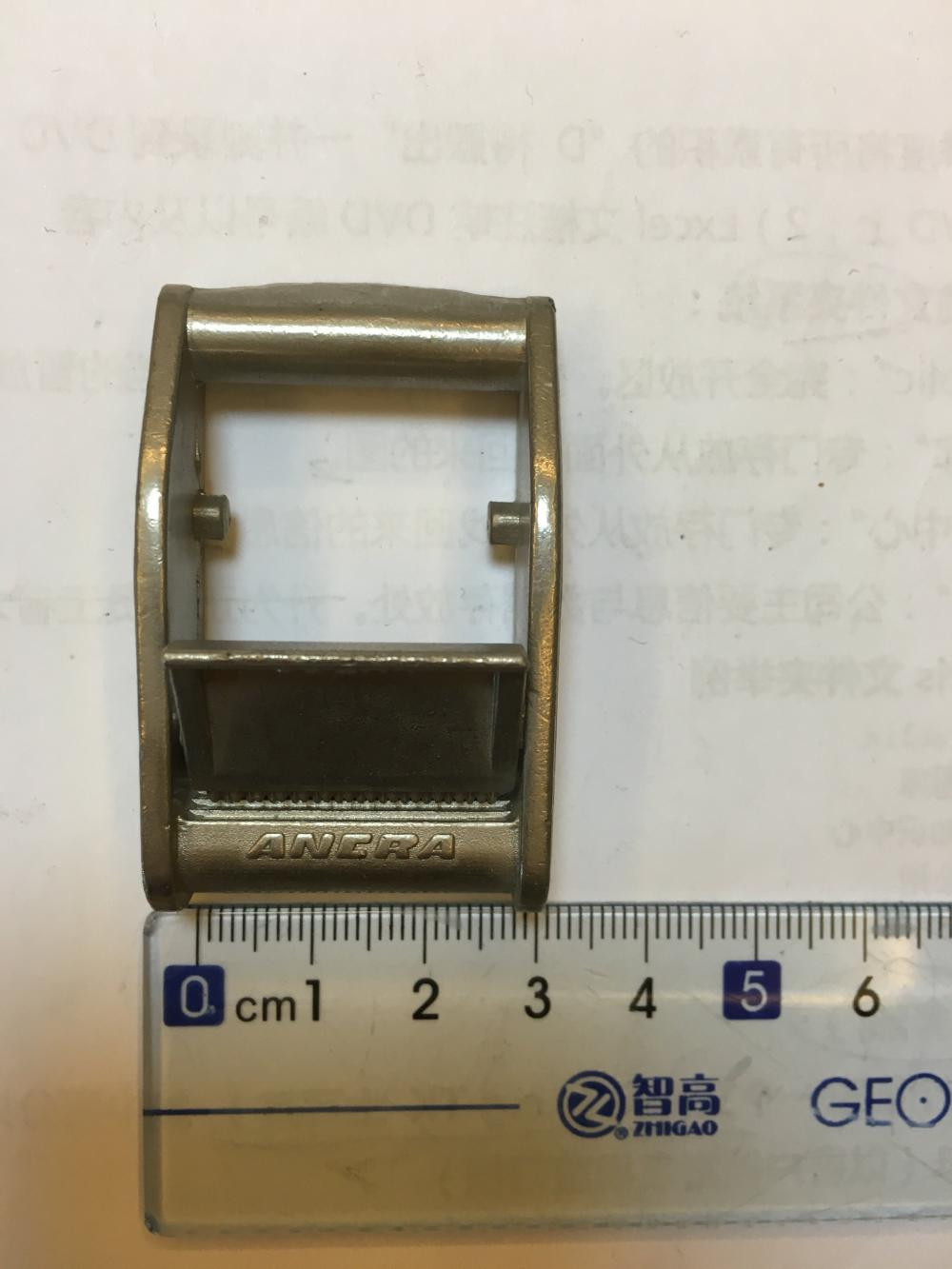25mm Zinc Alloy Cam Buckle With 350Kgs