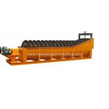 Spiral Gravel Washer Equipment For Sand Washing Plant