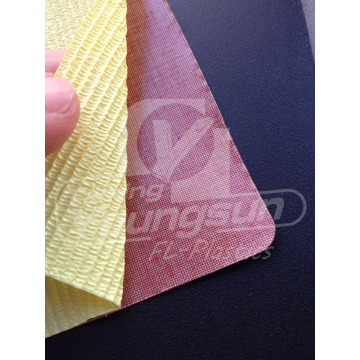 Silicone Coated Fabric with Adhesive