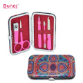 Leather case traval manicure kit