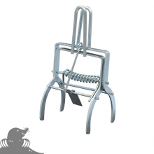 Electro-galvanized Mole Trap With Handle