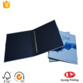 Rigid hardcover cardboard paper file folder
