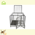 High Quality Outdoor Rustproof Square Tube Dog Cage