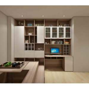 Study Room With Melamine Chipboard