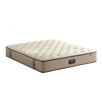 China supplier OEM for Pocket Spring Mattress Two layer pocket spring export to Russian Federation Exporter