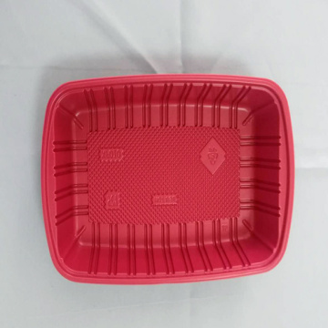 Plastic PP Food Container Box Heated