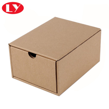 Brown kraft drawer box alang sa belte packaging box