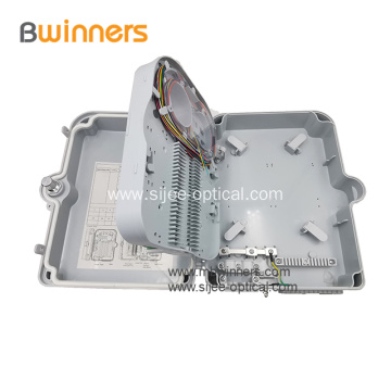 FTTH IP65 Outdoor Box 24 Core Fiber Optic Plastic Box Terminal Box