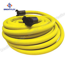 Smooth retractalbe air compressor hose