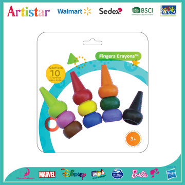 Fingers crayons blister card