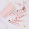 wholesale makeup brush set 9 pcs Pink